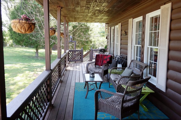 A porch is the place to enjoy gentle times and make memories