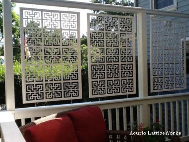 Acurio Lattice Vinyl Panel