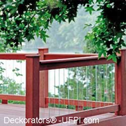 rectangular glass balusters