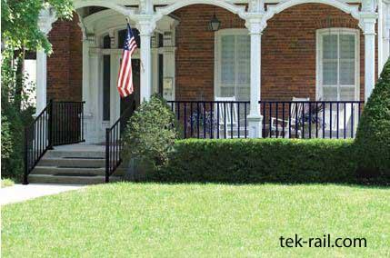aluminum porch railing aluminum deck railing deck railing ideas