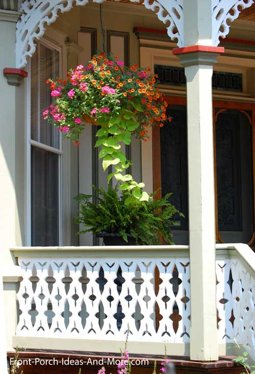 fret railings - intricate pattern