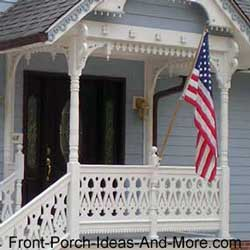 sawn porch balusters