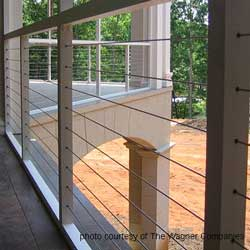 Front porch railings options designs and installation tips steel cable railings solutioingenieria Images