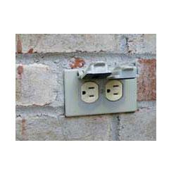front porch receptacle