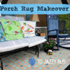 painted front porch rug