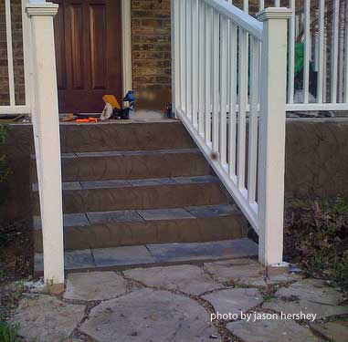 Flooring Options For Stairs Porch Steps Designs And More