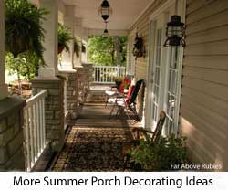 We - Patio Decorating Tips For Summer've picked 20 summer time ideas Summer ? Home Staging Online decorating ... for a Lovely Porch This Season