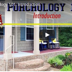 screen shot of porchology videos