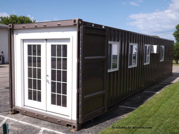 prefabricated fully finished tiny house shipping container