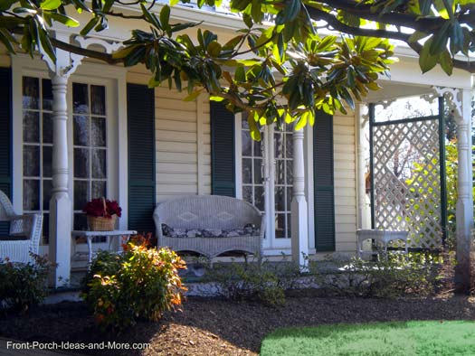 privacy porch front porch ideas front porch pictures