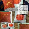 pumpkin pillow covers