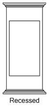 example of PVC Column Pedestals