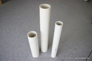 pvc cut to lengths for 4th of july firecrackers
