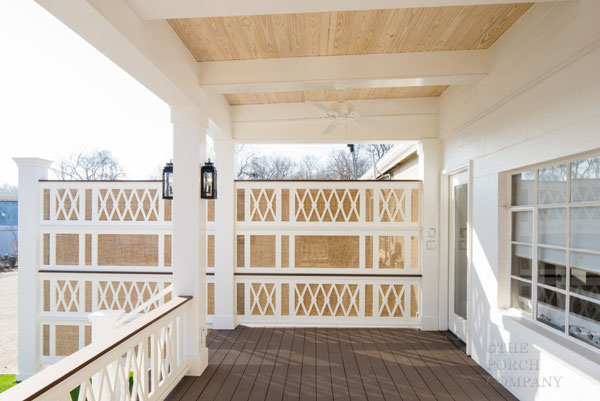 Pvc Wall Handrails : Vinyl porch railing ideas for porches and decks