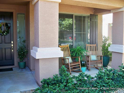 Quick decorating ideas for your porch