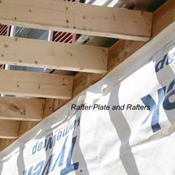 Building a Porch Roof | Porch Roof Framing