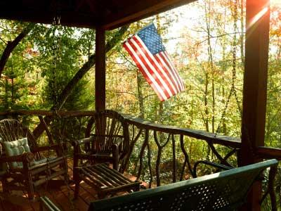 wood railings