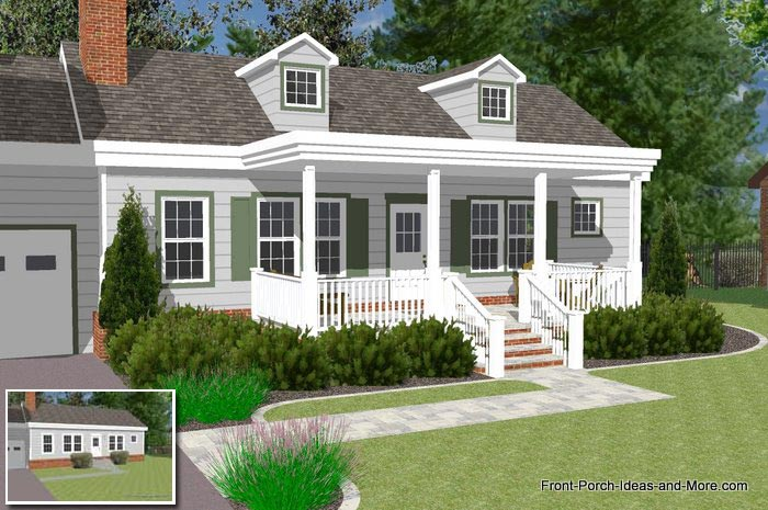 Great Front Porch Designs Ilrator