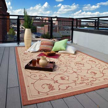 Rectangular Outdoor Rug