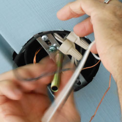 removing light fixture nipple to accommodate new light fixture