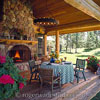 beautiuful log home porch photo by roger wade