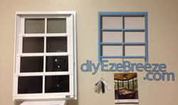 Eze-Breeze screen porch window frame colors