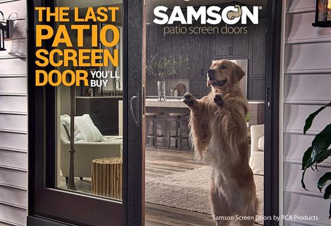 Samson screen door by pca products.com