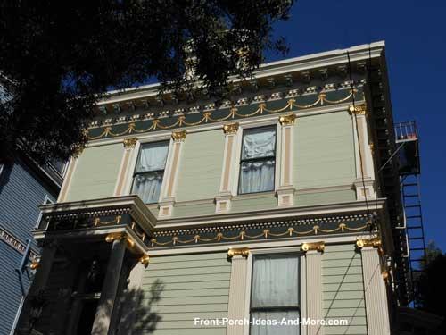 San Fransisco front porch