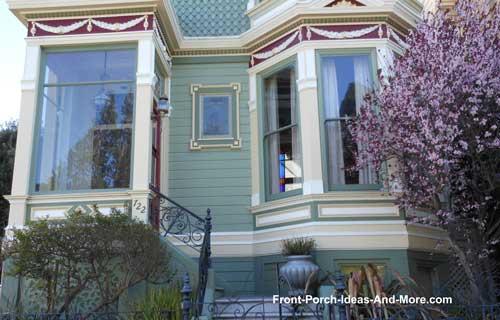 acrylic porch enclosure on front porch