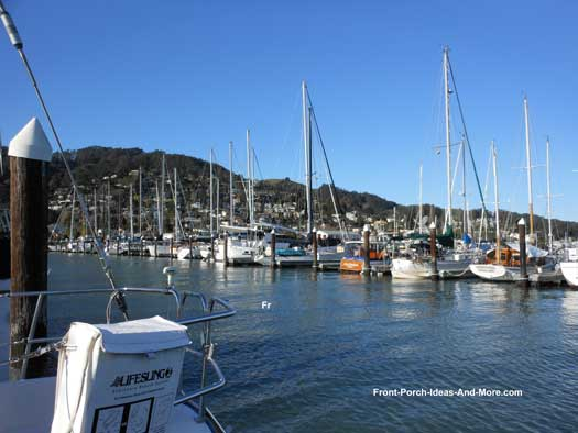 Sausalito California Harbor
