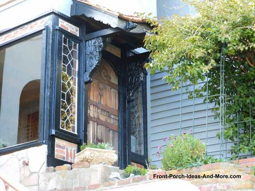 Enclosed Front Porch in sausalito california