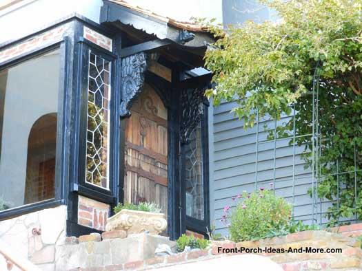 Enclosed Front Porch in sausalito california
