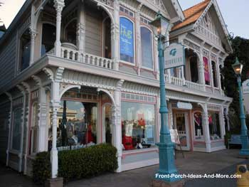 Downtown shops in Sausalito CA
