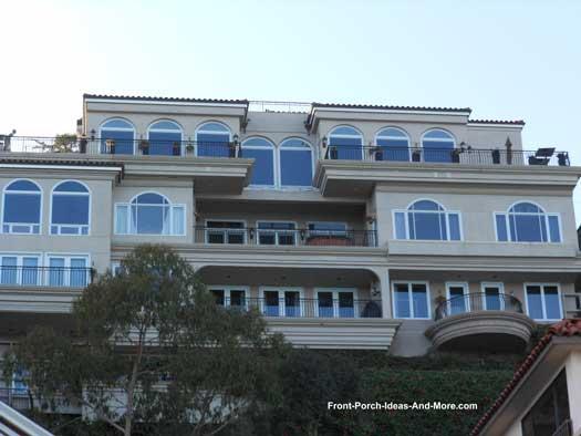 Hillside Sausalito Home and Porch