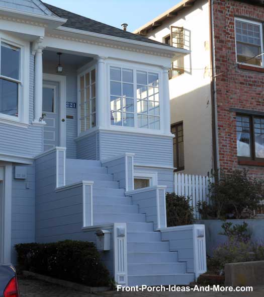 Interesting porch steps
