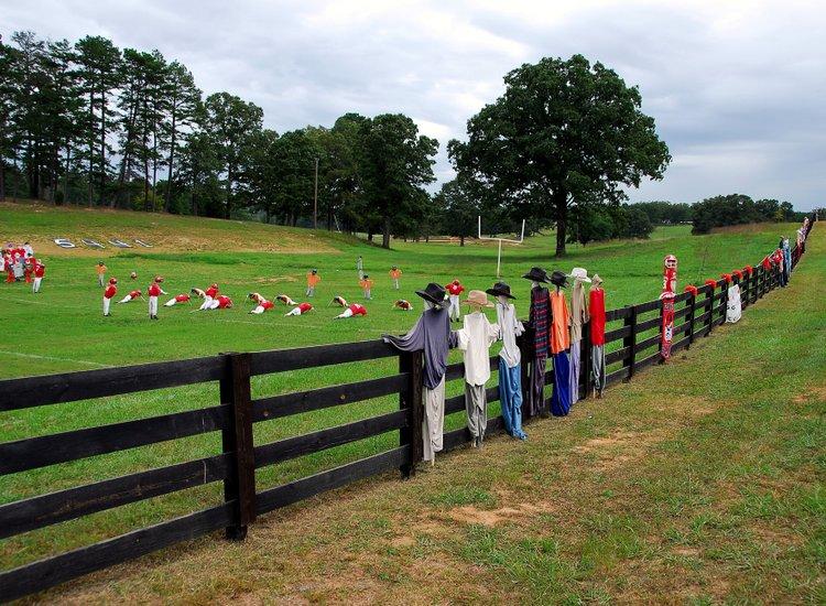 scarecrow spectators