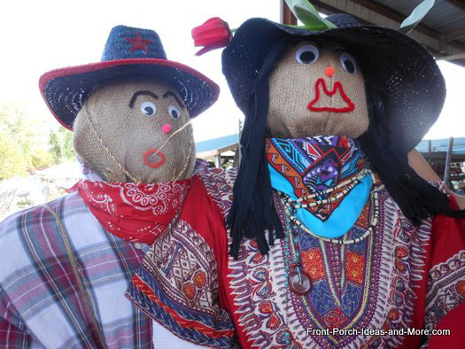 mr and mrs scarecrows