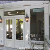 screen porch design by The Porch Company