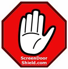 Screen Door Shield Picture