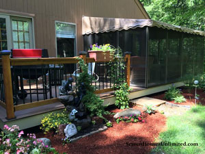 three sided screen porch enclosure kit by screenhousesunlimited