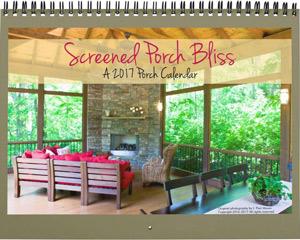 Screened Porch Parade calendar cover