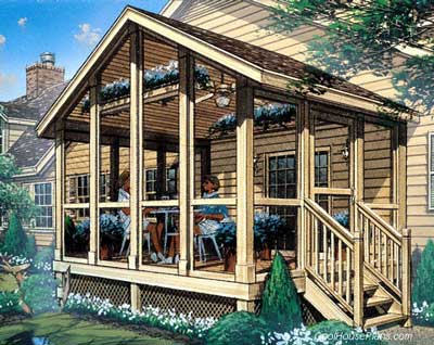 Screen House Plans Plans DIY Free Download Wwmm Lumber Storage
