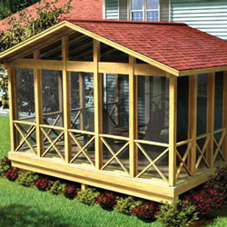 screen porch graphic from plan you can build