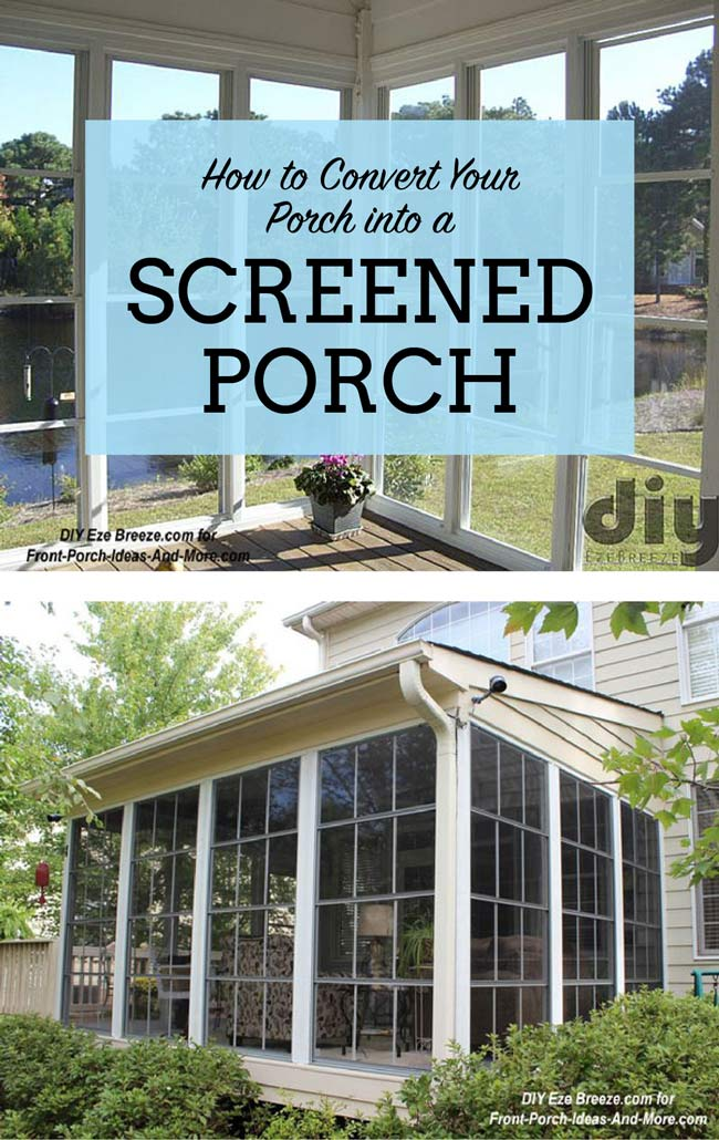 Your screened porch can be more with these windows