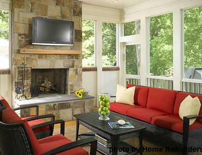 stone fireplace decorating ideas. tv over fireplace decorating