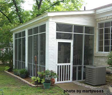 Screened in porch with screen roof - Screen porch roof set ...