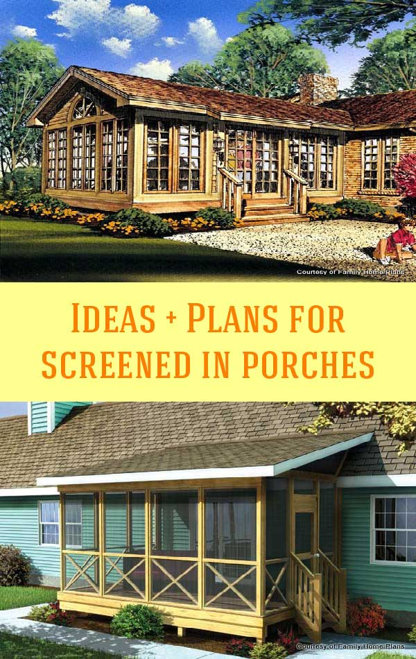 screened in porch plans. Screened Porch Plans Collage In C