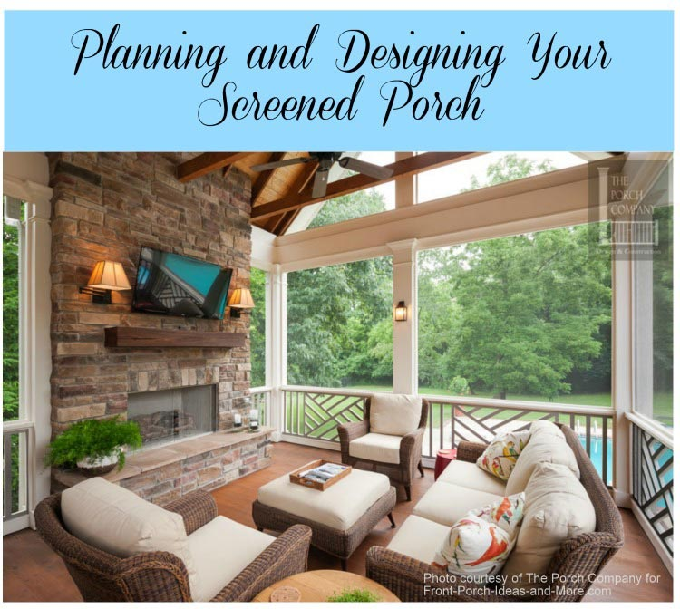 Porch Design Ideas front patio designs interior gorgeous front porch portico design ideas with half brick Screened Porch Design From The Porch Company