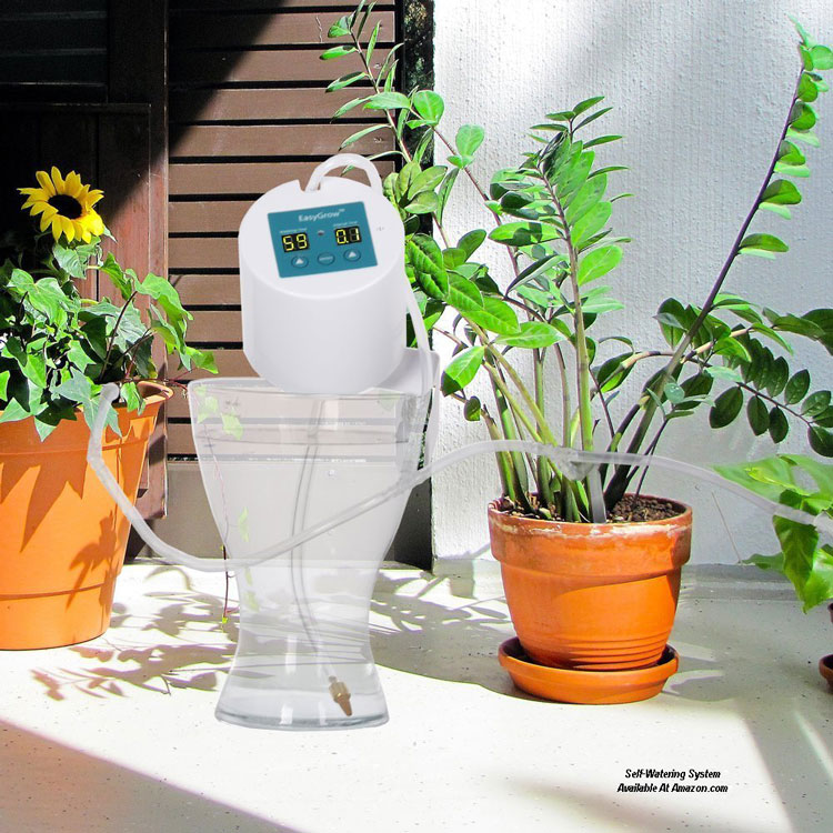 Glowpear Urban Garden Self Watering Planter Box: Container Gardening Ideas You Can Use
