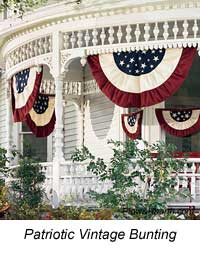 patriotic bunting for front porch